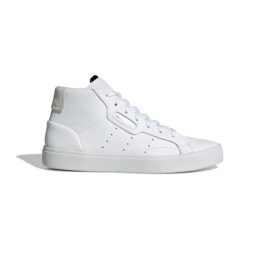 L'audacieuse sneakers original Adidas Sleek Mid White la basket basic incontournable chez Atalante - Antibes