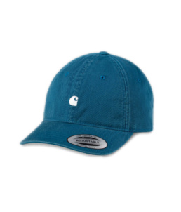 La Cap original Carhartt Madison Moody Blue basic incontournable chez Atalante - Antibes