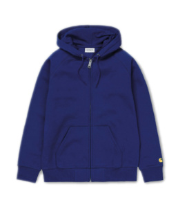 La Jacket original Carhartt Hooded Chase Submarine Gold basic incontournable chez Atalante - Antibes