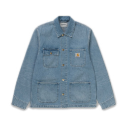 La Jacket original Carhartt Michigan Coat Blue basic incontournable chez Atalante - Antibes