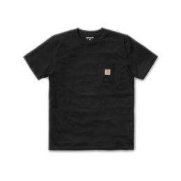 Le Tshirt original Carhartt S/S Pocket Black basic incontournable chez Atalante - Antibes