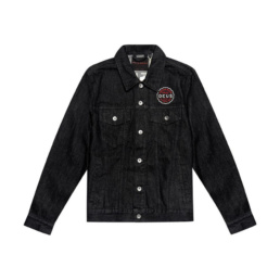 La Jacket original Deus Ex Machina Ronald Adress Black basic incontournable chez Atalante - Antibes