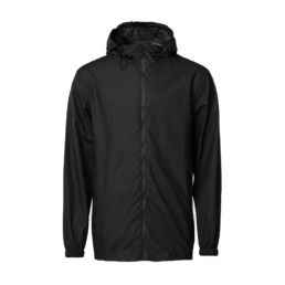 La Jacket Unisex original Rains Black l' imperméable basic incontournable chez Atalante - Antibes