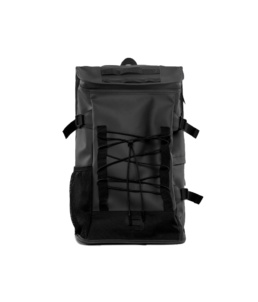 Le bag original Rains Mountaineer Black l'imperméable basic incontournable chez Atalante - Antibes