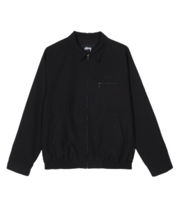 La Jacket original Stussy Bryan Black basic incontournable chez Atalante - Antibes
