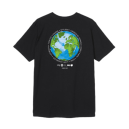 Le Tshirt original Stussy Global Design Black basic incontournable chez Atalante - Antibes