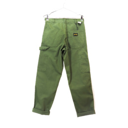 Le Pant original Stan Ray 80S Painter Pant Olive Overdye basic incontournable chez Atalante - Antibes