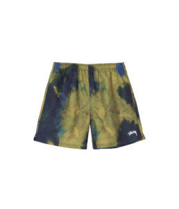 Le Short Dark Dye Stussy Green basic incontournable chez Atalante - Antibes