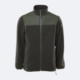 rains-fleece-zip-puller-jacket-green-1