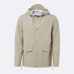 rains-short-hooded-jacket-beige-1