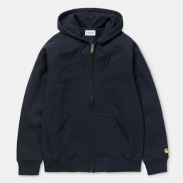carhartt-hooded-chase-jacket-dark-navy-gold-front