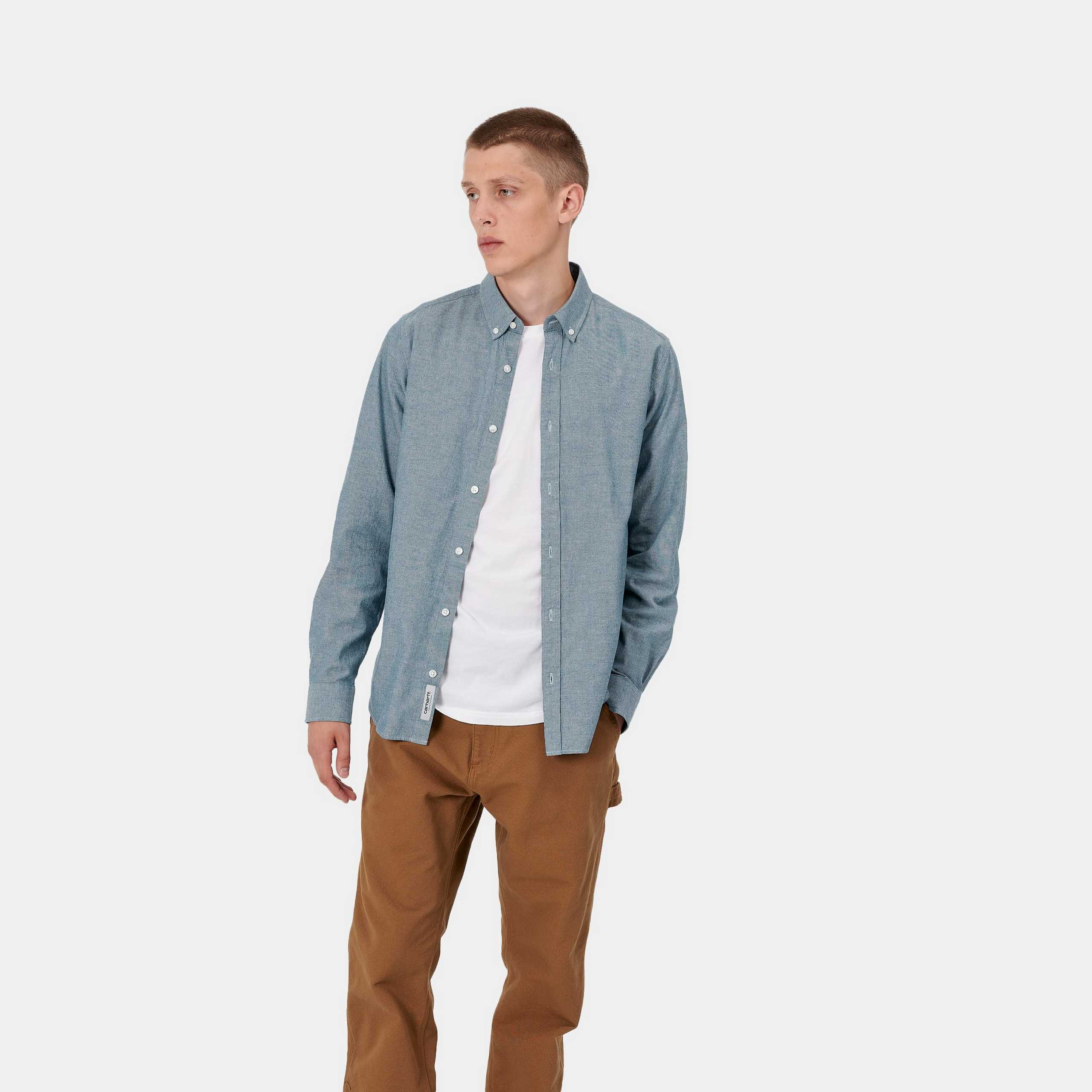 carhartt-l-s-kyoto-shirt-blue-stone-washed-front-worn