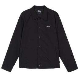 stussy-classic-coach-jacket-black-front