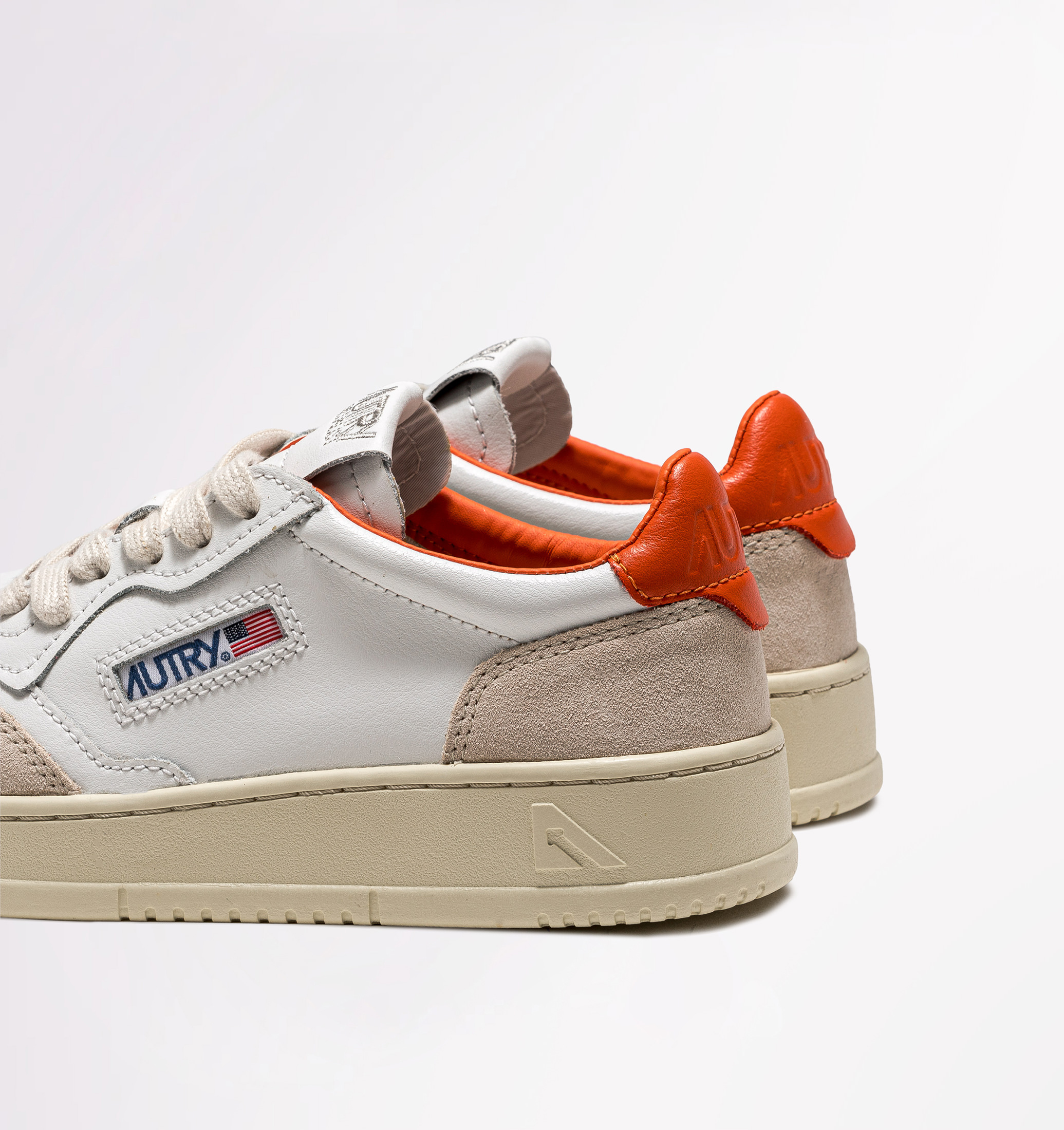 autry-01-low-leather-suede-white-orange-back