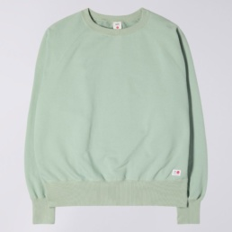 edwin-raglan-sleeve-crewneck-made-in-japan-soft-green-front
