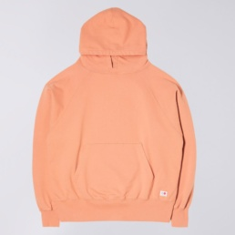 edwin-raglan-sleeve-hood-made-in-japan-soft-orange-front