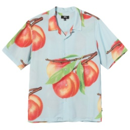 stussy-peach-pattern-shirt-light-blue-front