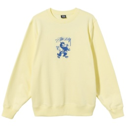 stussy-regal-app-crew-pale-yellow-front