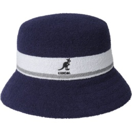 kangol-bermuda-stripe-bucket-peach-navy