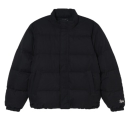 stussy-solid-down-puffer-jacket-black-front